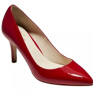 Cole Haan Juliana Red Patent Leather Pumps NWOT